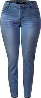 Instar Mode Women's Sexy Stylish Flare Bell Bottom Slim Bootcut Jean