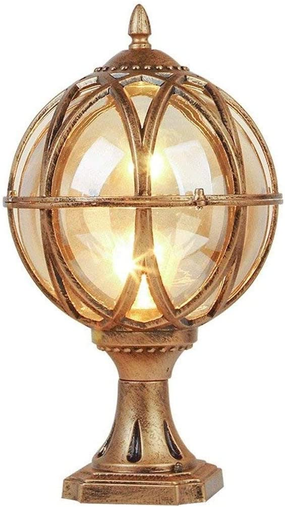 ZZYJYALG European Spherical Creative Wa Outdoor Headlight Column Special List price Campaign