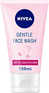 NIVEA, Face Wash, Gentle, Dry to Sensitive Skin, 150ml