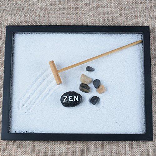 Following Juego de decoración para jardín de Zen, meditación de Arena y relajación pacífica