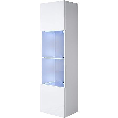 muebles bonitos Vitrina Modelo Luke V3 (40x128cm) Color ...