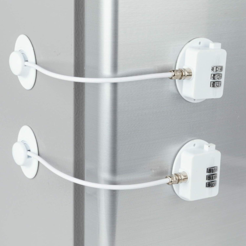 70% OFF Outlet Elegant 2 Pack Refrigerator Lock Combination C Fridge Coded Freezer