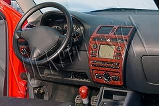Couverture de Panneau de Changement de Vitesse pour Jeep Wrangler JL 2018,Carbonfiber,3Kit L/&U Garniture de Couverture de Console Centrale Couverture d/écorative de Tableau de Bord