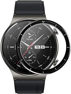 متوافق مع Huawei Watch GT2 Pro 46mm Screen Protector ، 3D منحني تغطية كاملة PET لينة شاشة واقية ل GT 2 Pro Smart watch (3 ...