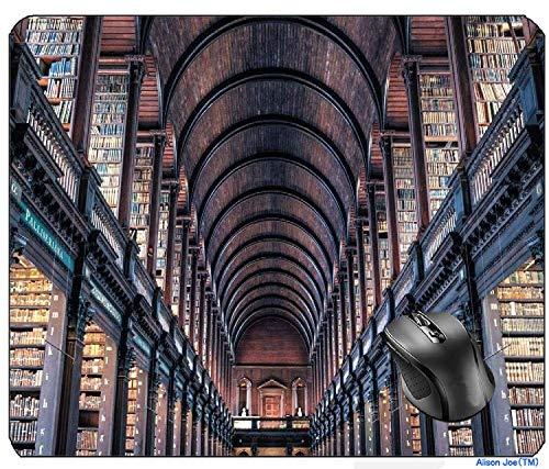 N\A Aventn Dublin Trinity College Edificio Biblioteca Irlanda architettura Città Viaggi Libri irlandesi Antico Medievale Prospettiva Antica HDR Interno Famoso Mouse Pad