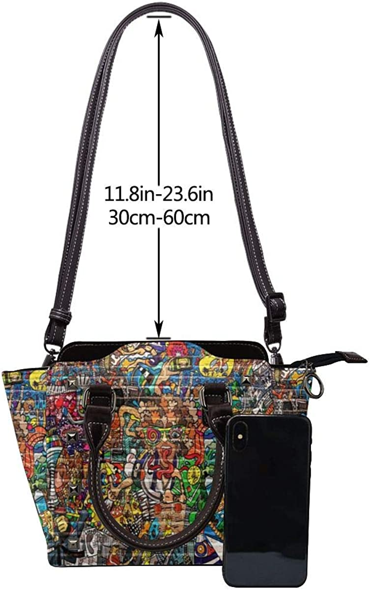 BROWCIN Étiquettes de collier Golden Retriever Détachable La mode Tendance Madame Sac à main Sac à bandoulière Cor16
