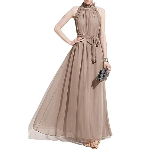 Chiffon Maxi Dresses Amazon Com