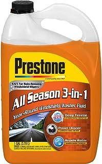 Best Prestone AS658 Deluxe 3-in-1 Windshield Washer Fluid, 1 Gallon Review