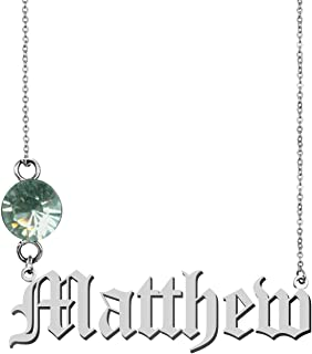 GR35Z9 Old English Customized Pendant Custom Any Name Necklace