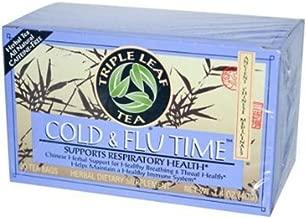 Triple Leaf Tea Cold Flu Time Tea, 20 Tea Bags per Box (Pack of 3 Boxes)
