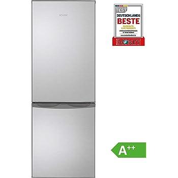 43 Gefrierteil//Abtauautomatik//Rot Gefrierteil unten // A++ 143 cm 122 L K/ühlteil 160 kWh//Jahr Bomann KG 320.1 K/ühl-Gefrier-Kombination