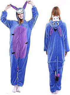 Adult Onesie Animal Pajamas Halloween Xmas Costume One Piece Cosplay Sleepwear for Women Men