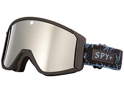 Spy Optic Raider (Glacial Black/Bronze/Silver Spectra/Persimmon) Snow Goggles