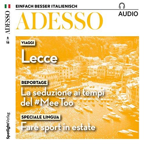 Adesso Audio. 6/2018 audiobook cover art