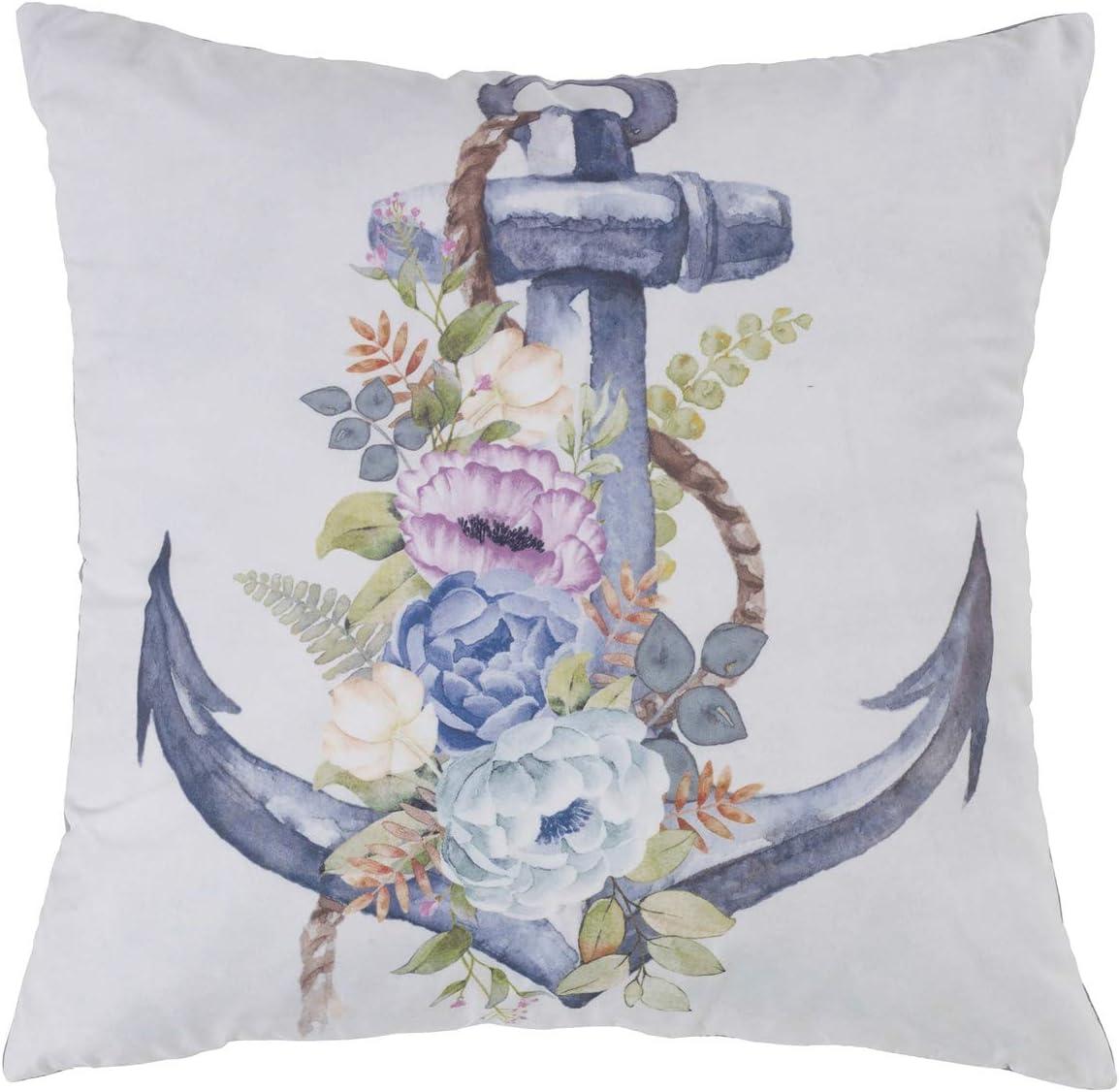 Donna Sharp Throw Pillow 数量限定 - Accessories Coastal Decorativ 安全 Bedding