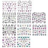 Beaupretty 10Pcs Adesivi per Tatuaggi Pasquali per Bambini Adesivi per Unghie Tatuaggi Temporanei Body Art Decalcomanie per Manicure Usa E Getta per Bambini Bomboniere Pasquali
