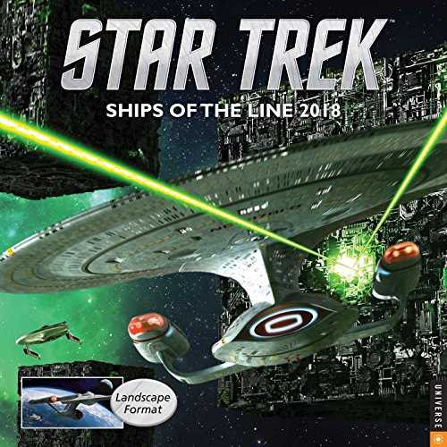 『Star Trek 2018 Wall Calendar: Ships of the Line』のトップ画像