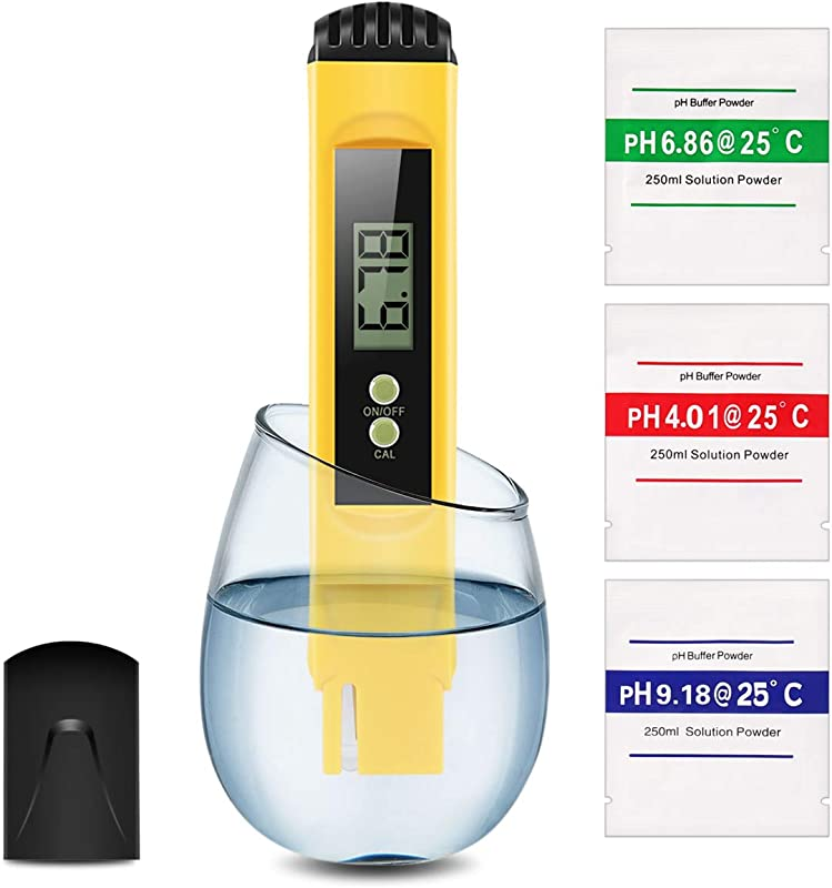 Digital PH Meter Water Quality Tester 0 01 PH High Accuracy And 0 14 PH Measurement Range Ideal Water Test Meter For Household Drinking Water Aquariums ATC