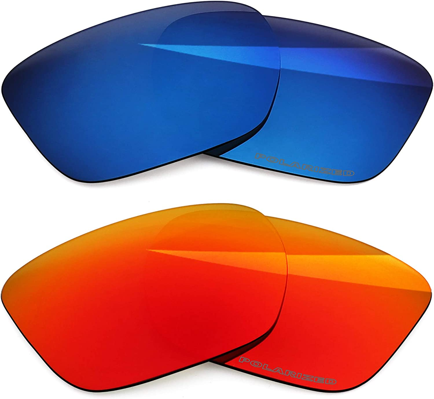 BlazerBuck Polarized Replacement Max 44% OFF Lenses Ranking TOP17 for Oakley OO9 XL Sliver