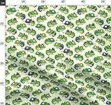 Grün, Chamäleon, Natur, Eidechse, Komisch, Augen Stoffe -
