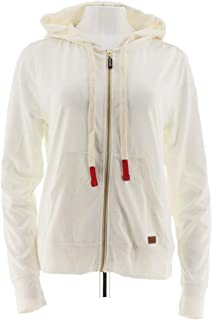 Peace Love World Zip Front Affirmation Hoodie A290288