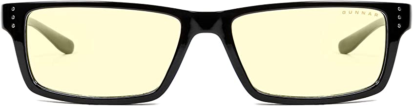 Gunnar Gaming and Computer Eyewear| Model:Riot, Amber tint | Patented Lens| Reduce Digital Eye Strain & Reduce eye Dryness, Block 65% of Harmful Blue Light