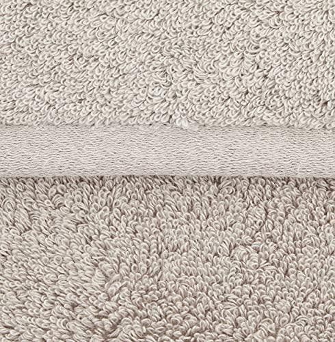 【Amazon.co.jp限定】タオル研究所[ボリュームリッチ]#003フェイスタオルライトグレー5枚セットふかふかホテル仕様高速吸水耐久性人気[毛羽レス]【選べる5色】JapanTechnology