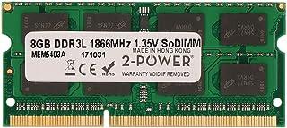 2-Power MEM5403A 8 GB Unbuffered, Non-ECC DDR3 Memory - Multi-Colour