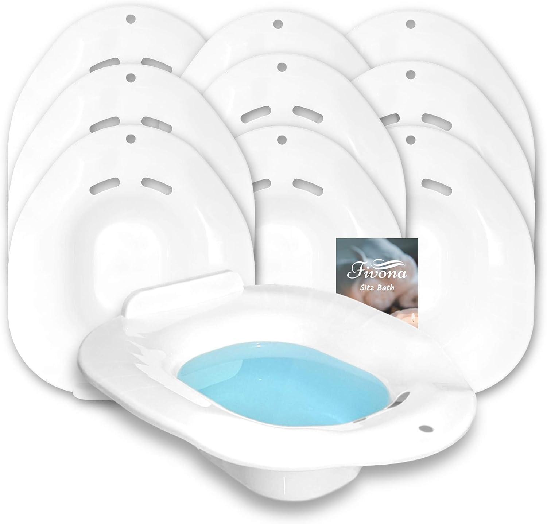 Ranking store TOP9 Set of 10 Sitz Bath Toilet Treatment Post for Hemorrhoid Seats