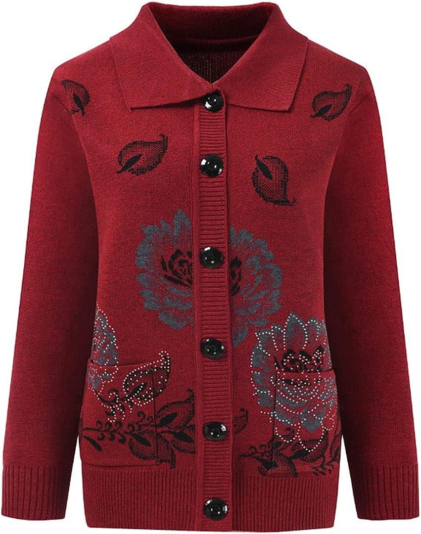 Sweater Women Max 67% OFF Knit Super sale Cardigan Autumn Coat Slee Winter Long