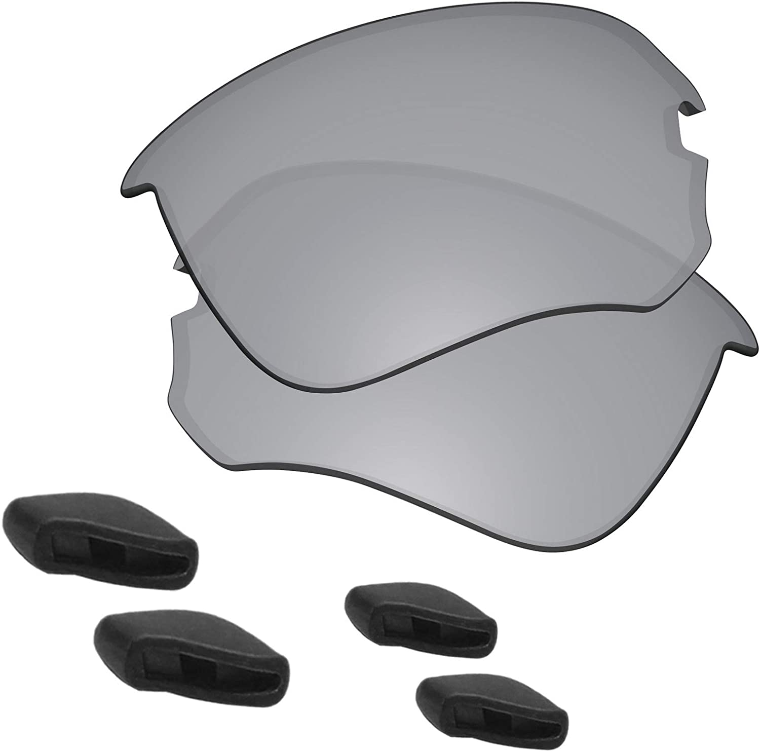 store Predrox Flak Draft Lenses Max 75% OFF Nose for S Oakley Pieces Replacement