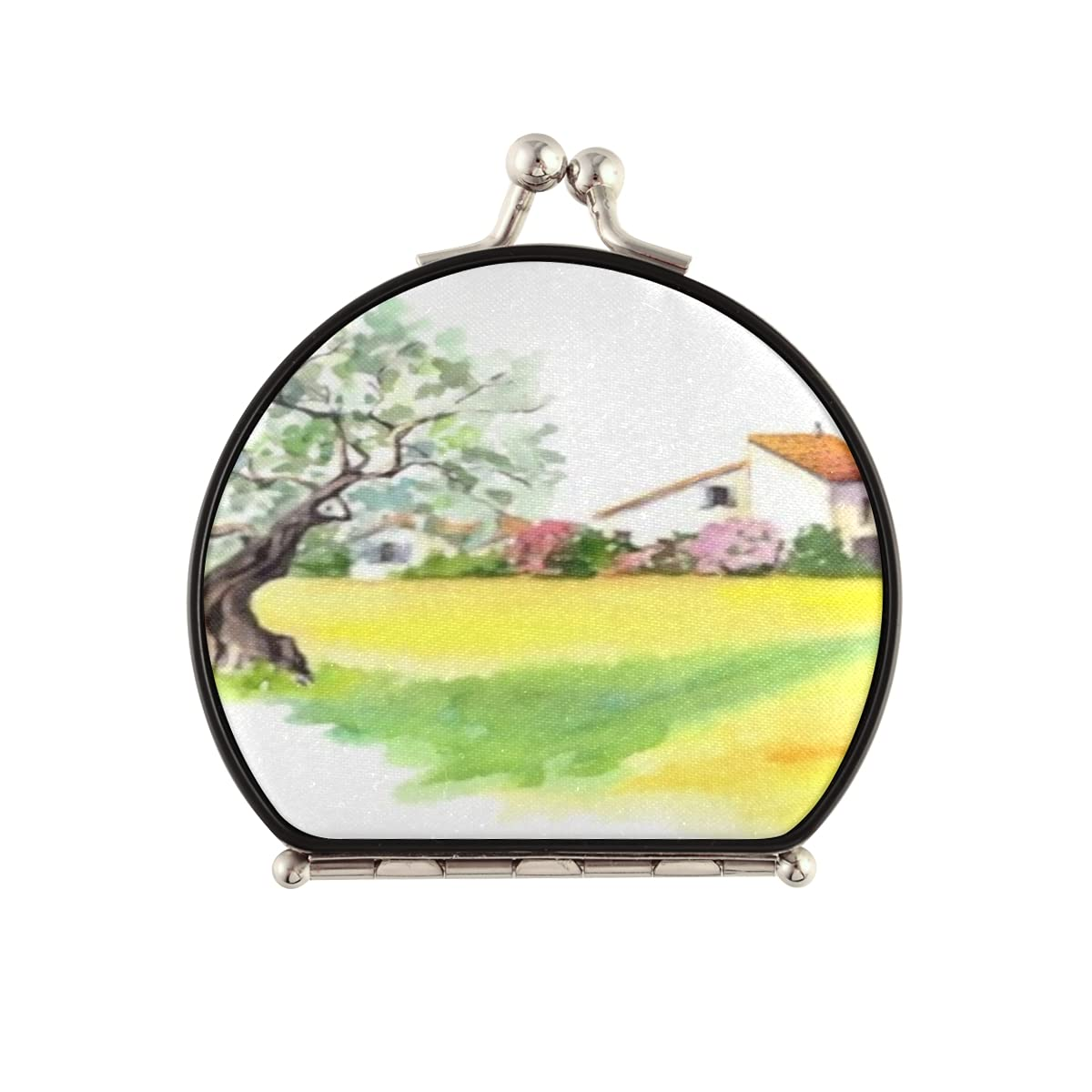 online shop Magnifying Compact Cosmetic Mirror Rural Farm Free shipping anywhere in the nation Provencal House Ol