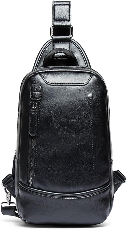 Mode Persönlichkeit Splice Brusttasche Multifunktionale Reiten Schultertasche Jugend Umhängetasche Männer Tasche (Farbe   schwarz) B07FD3MHPV   Wunderbar