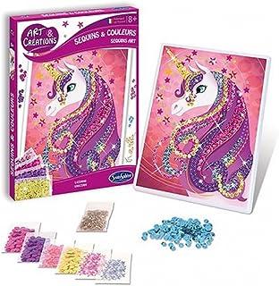 Ac Lentejuelas y colores unicornio