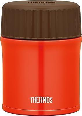サーモス(THERMOS) 保温ランチジャー レッド 380ml 真空断熱スープジャー JBU-380 R