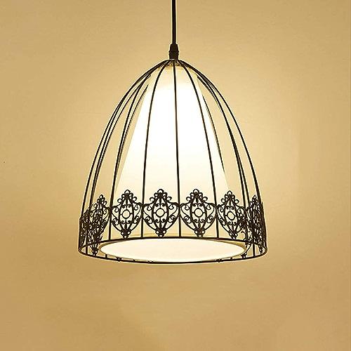 BAIF LED Single Head Lampe de Table à Manger Moderne Minimaliste Salle à Manger Salle décoration Restaurant vestiaire Lustre (Couleur  Noir)