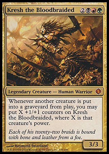 Magic The Gathering - Kresh The Bloodbraided - Shards of Alara