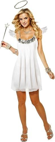Goddessey Babydoll Angel Costume - Large - Dress Größe 12-14