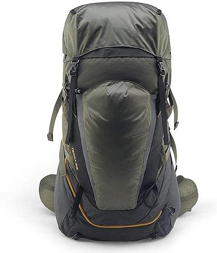 WING 48 55L Imperméable Sac à Dos Grande Contenance Backpack Mountaineering Sac à Dos Travel Backpack avec étanche pour Les Voyages en Plein air Escalade Camping