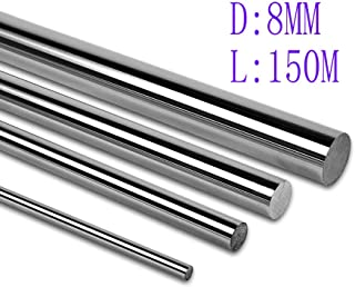 UsongShine 2pcs 8mm Linear Shaft 3D Printer Cylinder Liner Rail Linear Shaft axis CNC Parts (150mm)