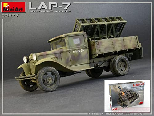 MINIART MIN35277 Soviet Rocket Launcher LAP-7 KIT 1 35 MODELLINO Model Compatible avec