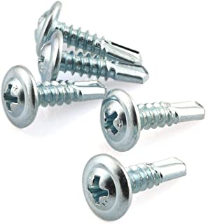 """4.8mm Qty 50 Pan Self Taping 10g x 1/"""" 25mm Stainless Screw 304 Tappers A2 SS"""