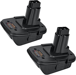DCA1820 for Dewalt Battery Adapter for 18V Tools Compatible with 20V MAX XR Lithium Battery (2PACK)