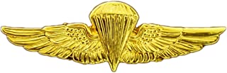 US Navy and USMC Parachutists Badge Lapel Pin 1-3/8 Inches