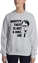 Identity Theft is Not A Joke, Jim Sweatshirt Ugly Sweater The Office TV Series