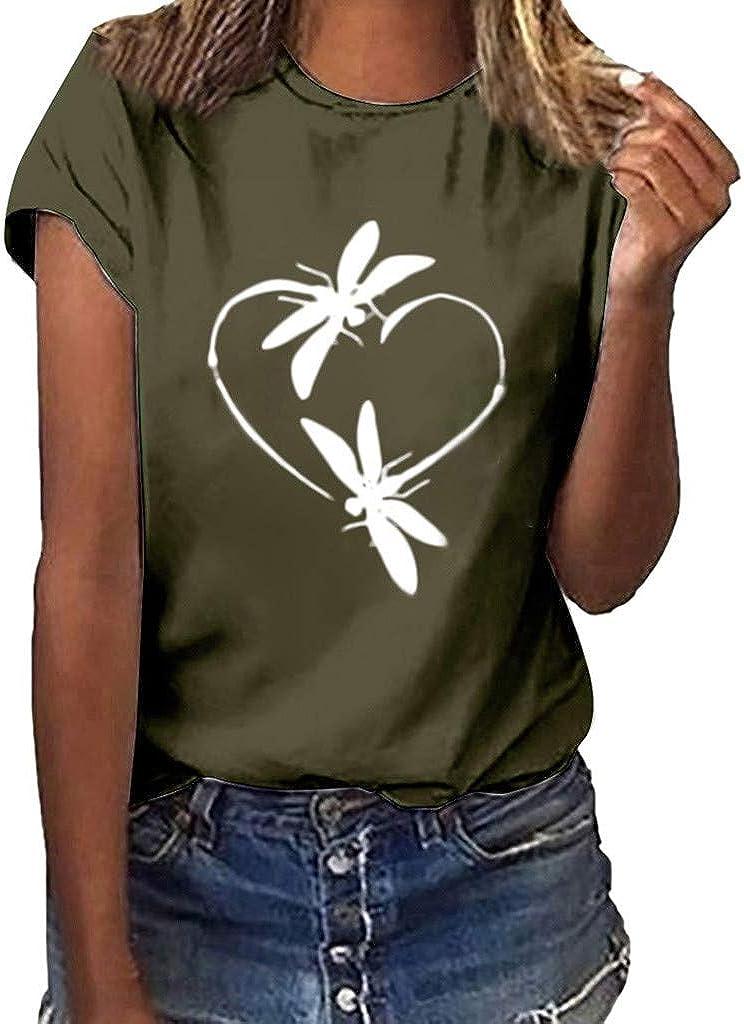 Cute Shirts for Teen Girls Crop Top Womens Vintage Queen Shirt Summer Cute Short Sleeve Casual Graphic Tees Green