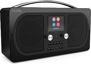 Pure Evoke H6 Prestige Edition - Portable Stereo FM/DAB+/DAB Digital Radio - DAB Radio with Bluetooth Music Streaming, Dua...