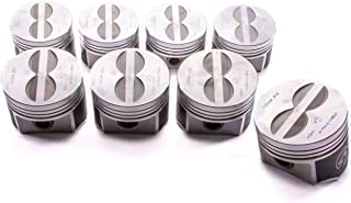 Speed Pro TRW Forged Flat Top Coated Skirt Piston Set/8 compatible with Chrysler Dodge Plymouth 440 Six Pack 10.1:1 +.030