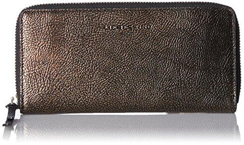 Liebeskind Berlin Damen SallyW7-Zipper Geldbörse, Bronze, 3x10x19 cm