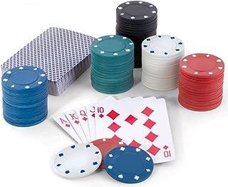 texas holdem poker set tin